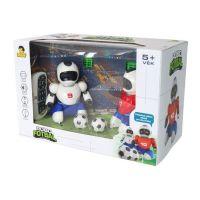Dva Roboti s míčkem na dálkové ovládání a dvěma brankami 5