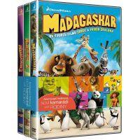 Bontonfilm DVD 3x DVD Madagaskar 1-3