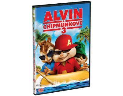 Bontonfilm Alvin a Chipmunkové 3 DVD