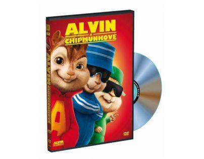 DVD Alvin a Chipmunkové