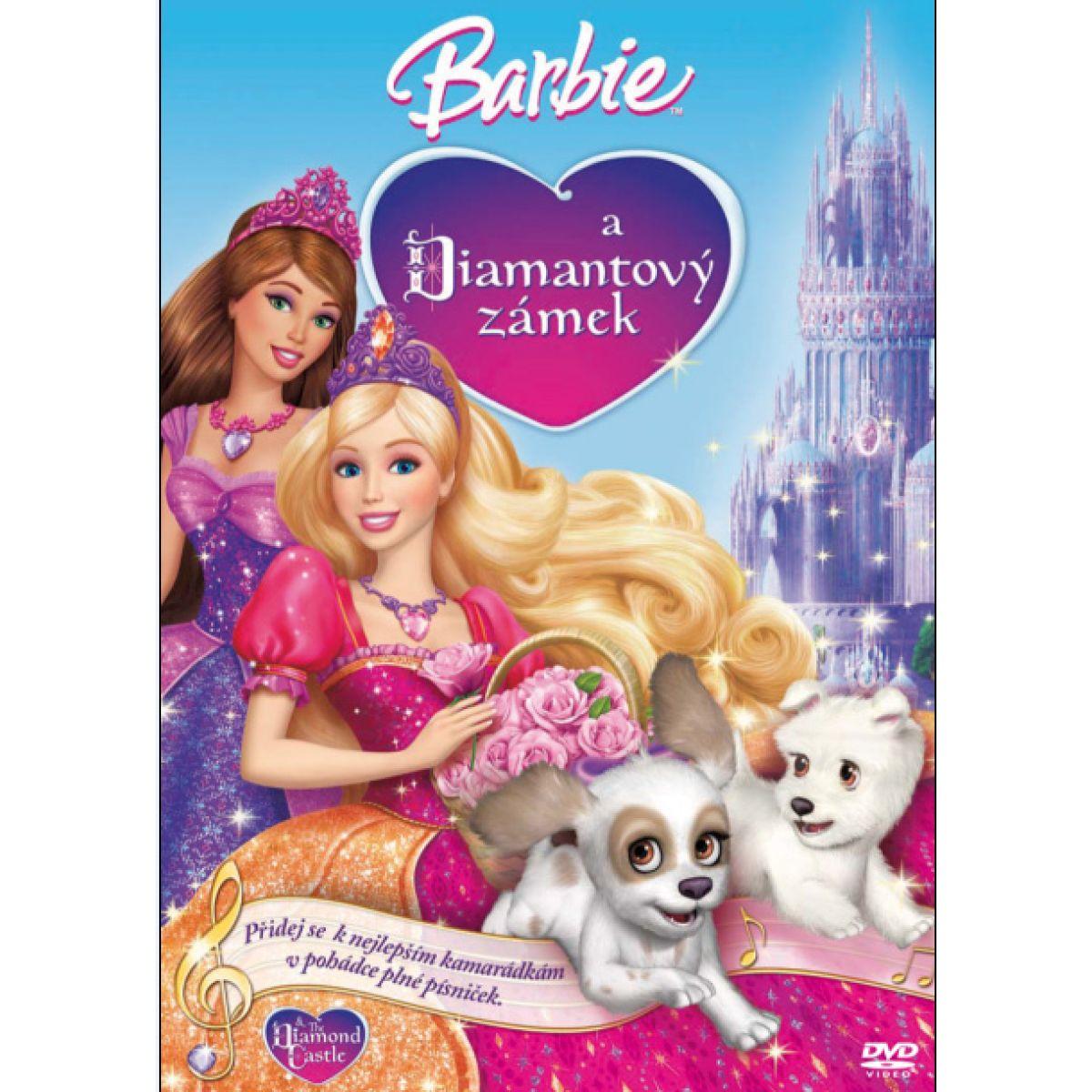 Barbie a Diamantový zámek DVD