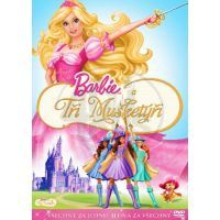 Barbie a tři mušketýři DVD