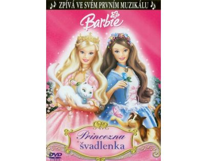 Barbie princezna a švadlenka DVD