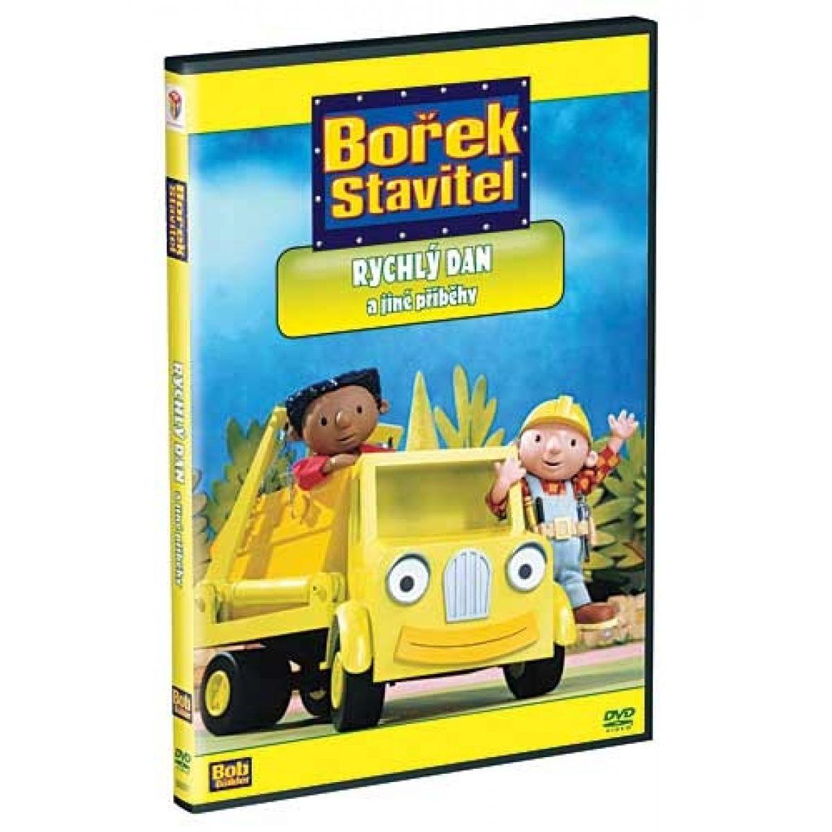 DVD Bořek stavitel - Rychlý Dan a jiné příběhy