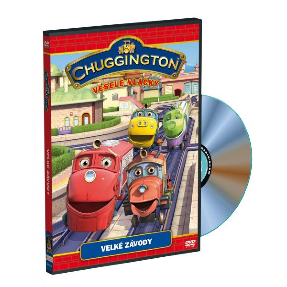 DVD Chuggington - veselé vláčky - Velké závody