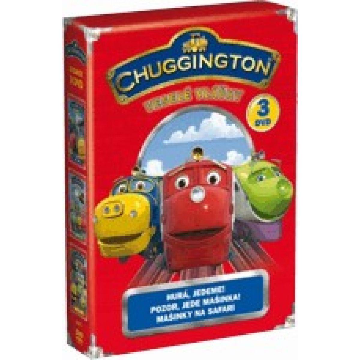 DVD Chuggington - Veselé vláčky 1-3 Kolekce 3 DVD