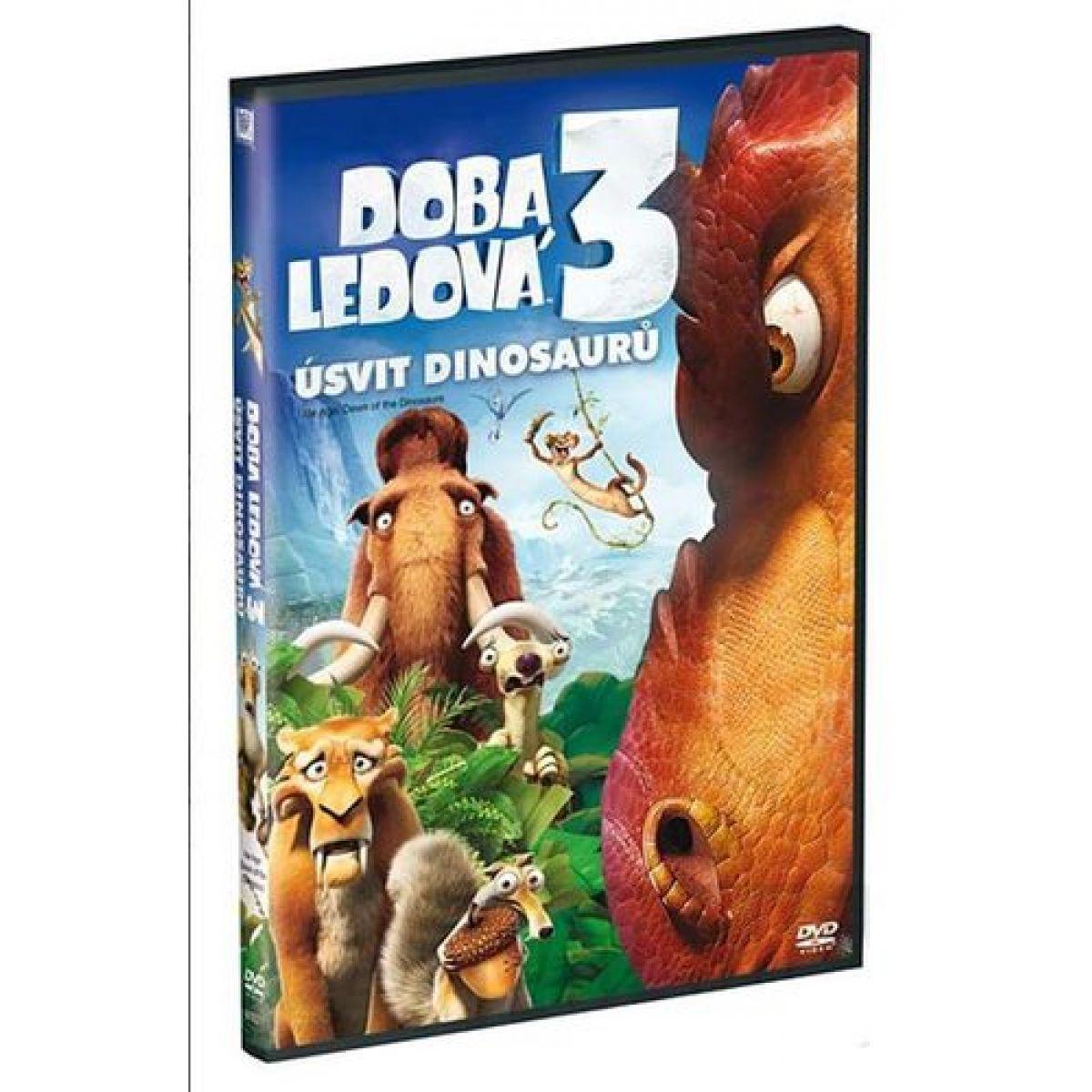 Bontonfilm DVD Doba ledová 3 Úsvit dinosaurů
