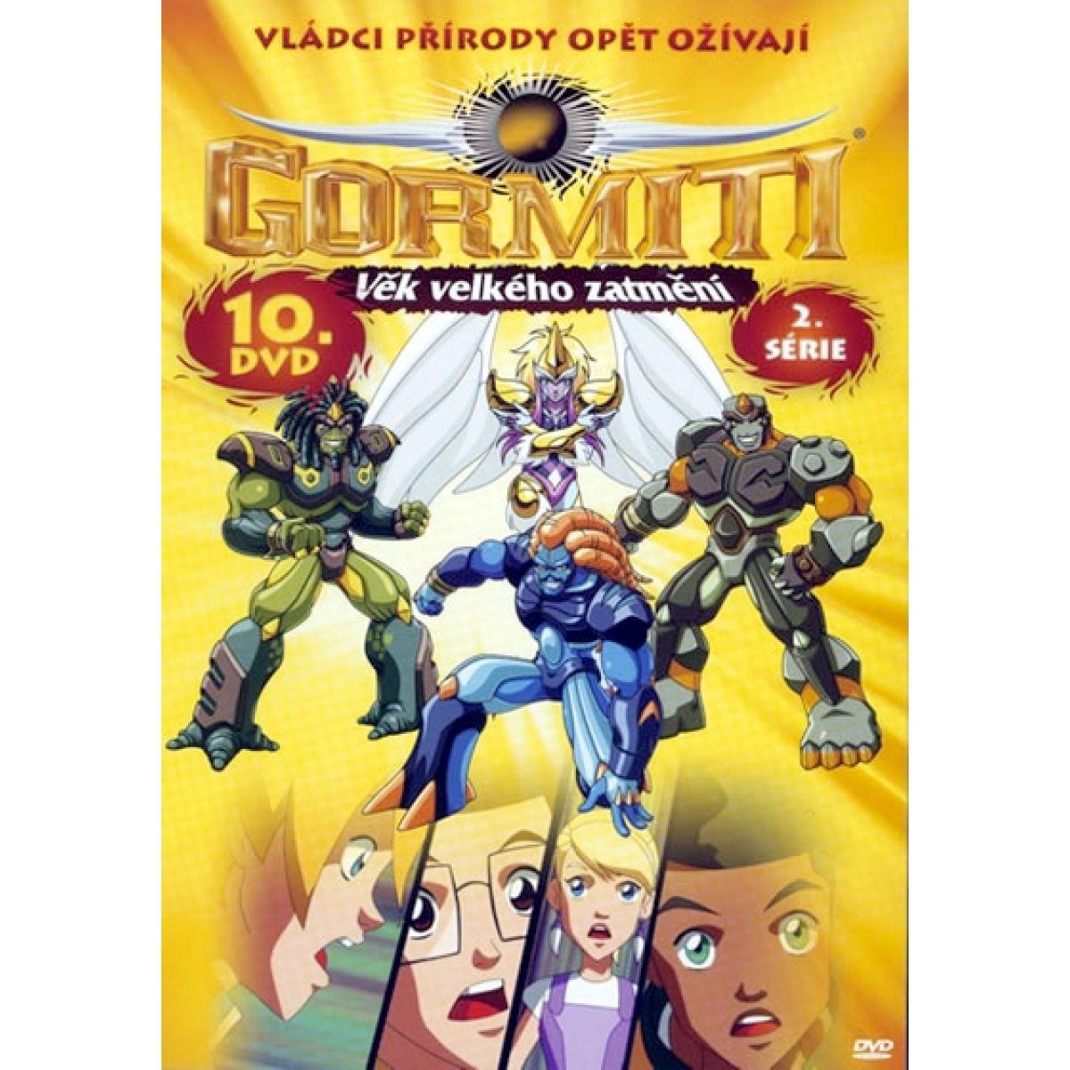 Gormiti 66359 - Gormiti 10 Věk velkého zatmění (DVD)