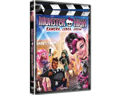 DVD Monster High Kamera, lebka, jedem!
