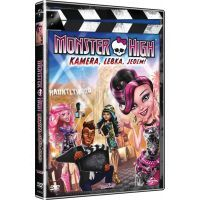 DVD Monster High Kamera, lebka, jedem!
