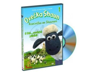 Ovečka Shaun D8001 - DVD Shaun1 Rozcvička se Shaunem