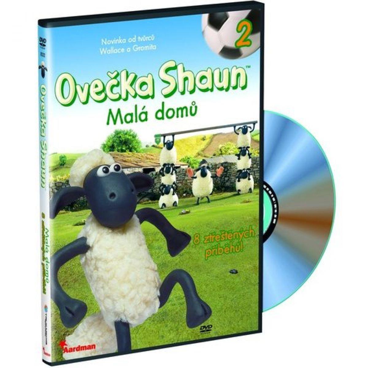 Ovečka Shaun D8002 - DVD Shaun 2 Malá domů