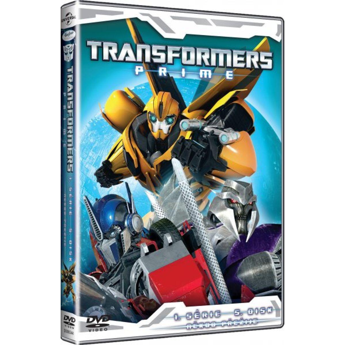 DVD Transformers Prime 1. série 5. disk