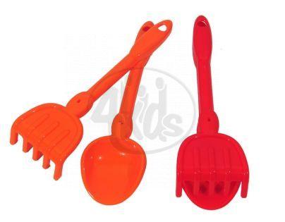 Ecoiffier 0169 - Lopatička a hrabičky pláž 30 cm, 2 druhy