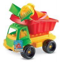 Ecoiffier 0504 - Nákladní autíčko s formičkami 34 cm