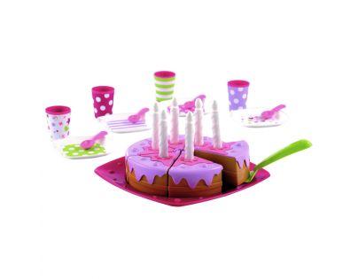 Éccoiffier 2613 - Narozeninový dort vč. příslušenství