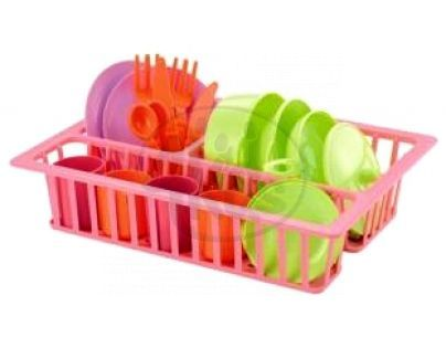 Ecoiffier 0606 - Odkapávač s nádobím