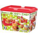 Ecoiffier Hamburger set 2