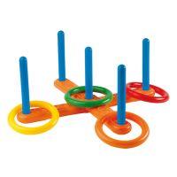 Ecoiffier 0136 - Házení kroužků - kříž (4 kroužky)