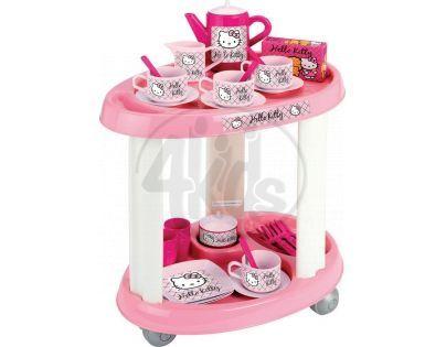 Ecoiffier 1604 - Hello Kitty Servírovací stolek