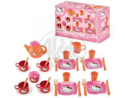 Ecoiffier 2609 - Jídelní servis Hello Kitty