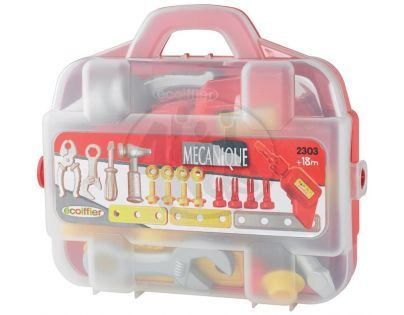 Ecoiffier Mecanique kufřík s nářadím