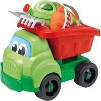 Ecoiffier Nákladní auto 41 cm s příslušenstvím na písek