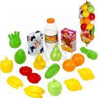 Ecoiffier 0951 - Potraviny v síťce - ovoce a zelenina