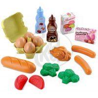Ecoiffier 0950 - Potraviny v síťce - snídaňový set
