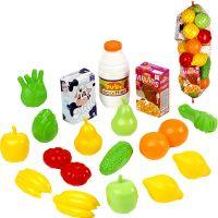 Ecoiffier Potraviny v síťce Ovoce a zelenina