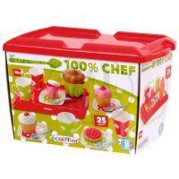 Ecoiffier 2611 - Snídaně na tácu - box