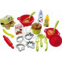 Ecoiffier 2617 - Velká sada kuchyňského příslušenství