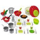 Ecoiffier E 2621 - Velká sada nádobí a jídla 2