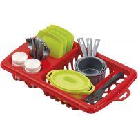 Ecoiffier 0956 - Velký odkapávač s nádobím 33,5 cm