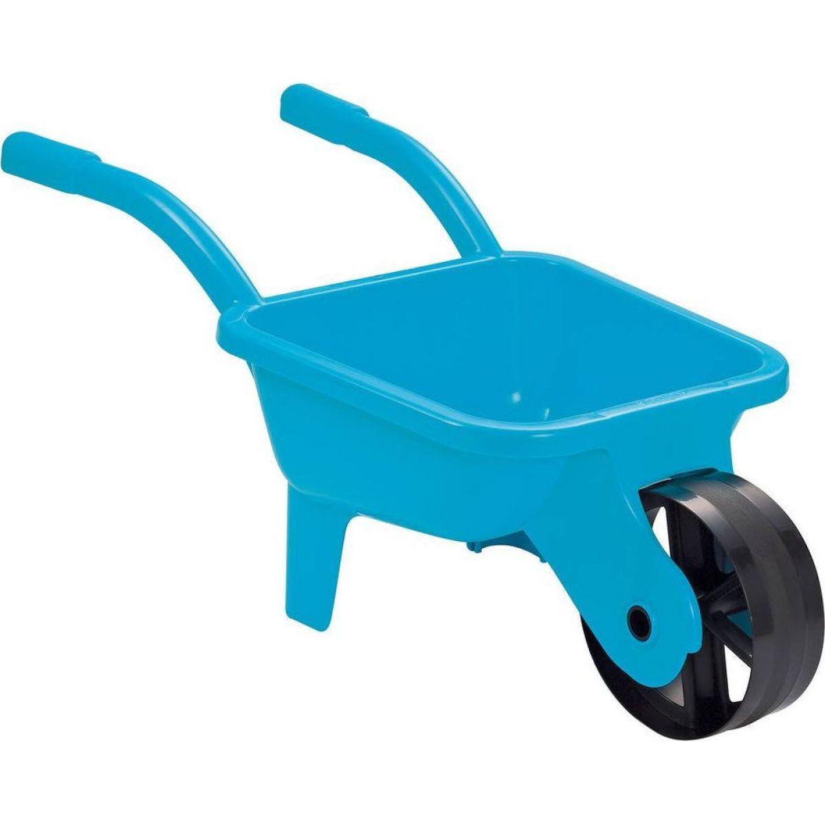 Ecoiffier Zahradní kolečko plastové modré