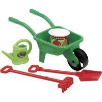 Ecoiffier Zahradní kolečko s konvičkou a příslušenstvím