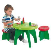 Zahradní stůl se 2 židličkami a příslušenstvím