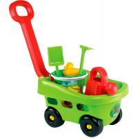 Ecoiffier Zahradní vozík s kyblíčkem a příslušenstvím