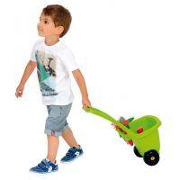 Ecoiffier Zahradní vozík s nářadím, květináči a konvičkou 2