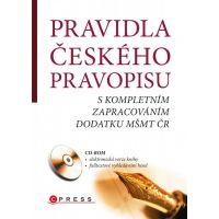 Edika Pravidla českého pravopisu a CD
