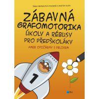 Edika Zábavná grafomotorika Úkoly a rébusy pro předškoláky