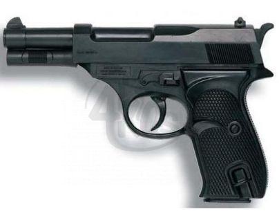Alltoys 21834 - Policejní pistole Eaglematic kapslíková