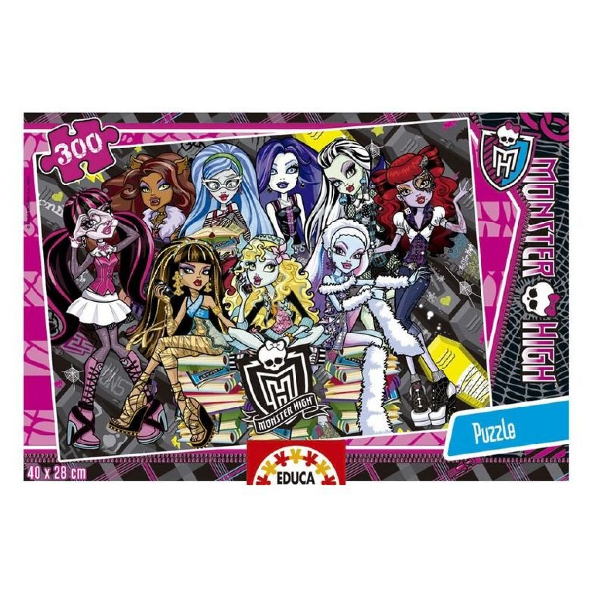 Educa Puzzle Monster High 300 dílků