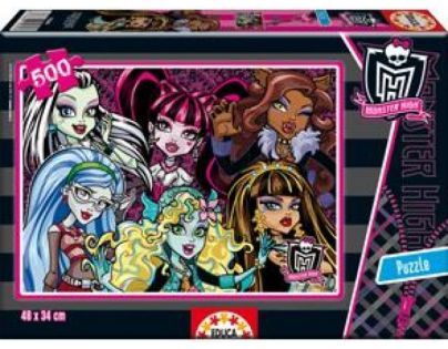 Educa Puzzle Monster High 500 dílků