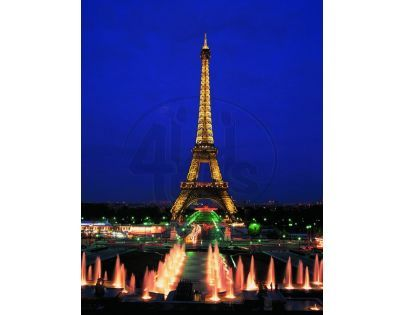 Educa Puzzle Neon Eiffelova věž Paříž 1000 dílků
