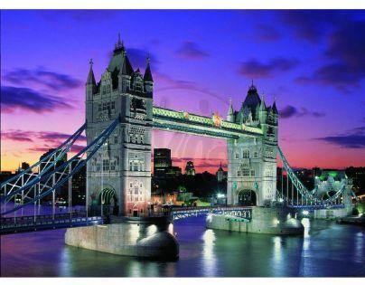 Educa Puzzle Neon Noční Londýn Tower Bridge 1000 dílků