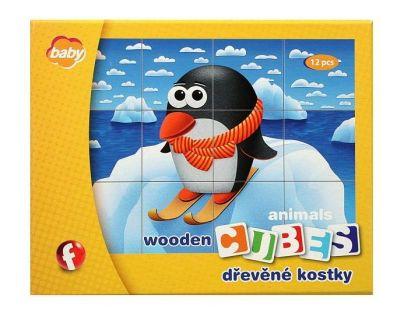 EFKO baby 54620 - Kostky dřevené I. BABY