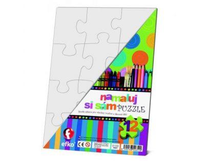 Efko Namaluj si sám puzzle obdélník
