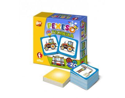 EFKO 54677 - Pexeso TECHNIKA BABY
