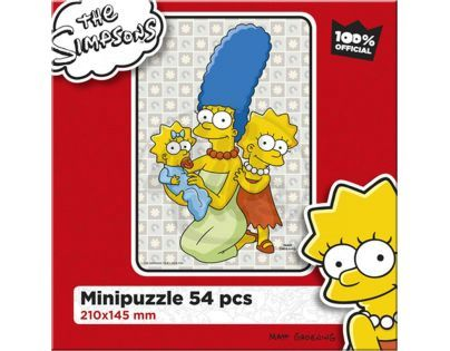 Efko Puzzle The Simpsons Holky ze Springfieldu